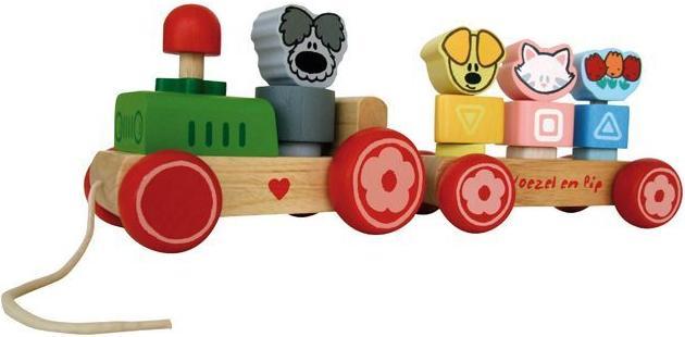 Woezel en Pip trein