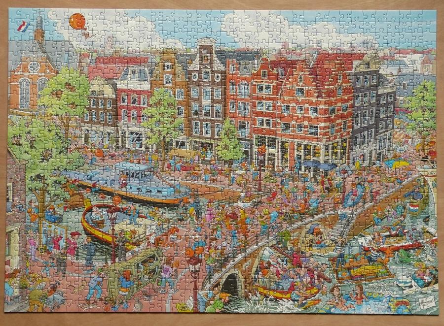Puzzel Amsterdam