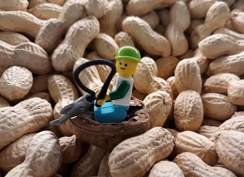 pinda's Lego mannetje