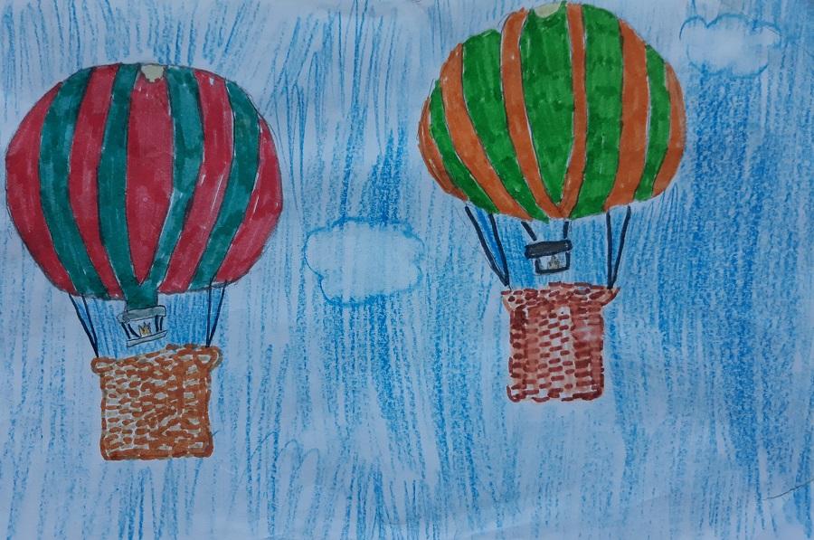 luchtballonnen tekenen
