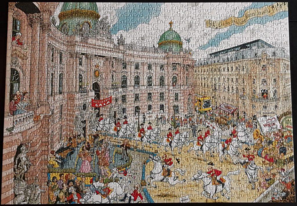 Puzzel Wenen Ravensburger
