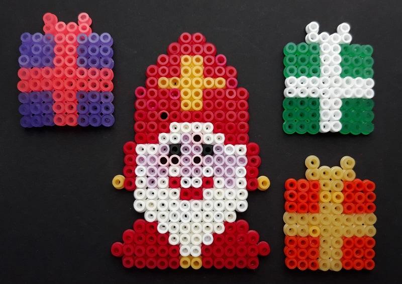 Sinterklaas + Pakjes Strijkkralen