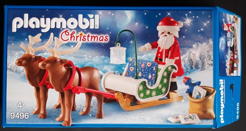 Kerst playmobil 9496