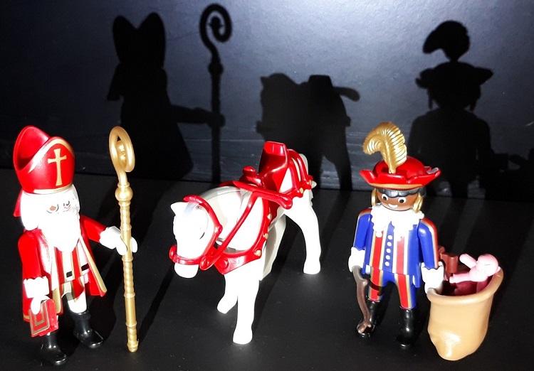playmobil Sinterklaas & zwarte piet
